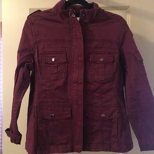 Crimson Utility Jacket